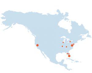 Mapa Norte América Diploma IB