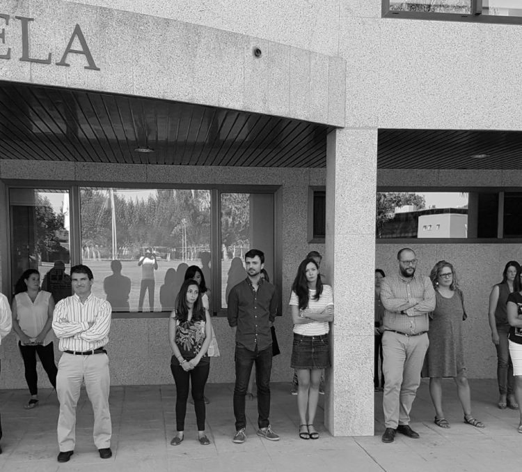 Minuto Silencio UCJC condena atentado Barcelona