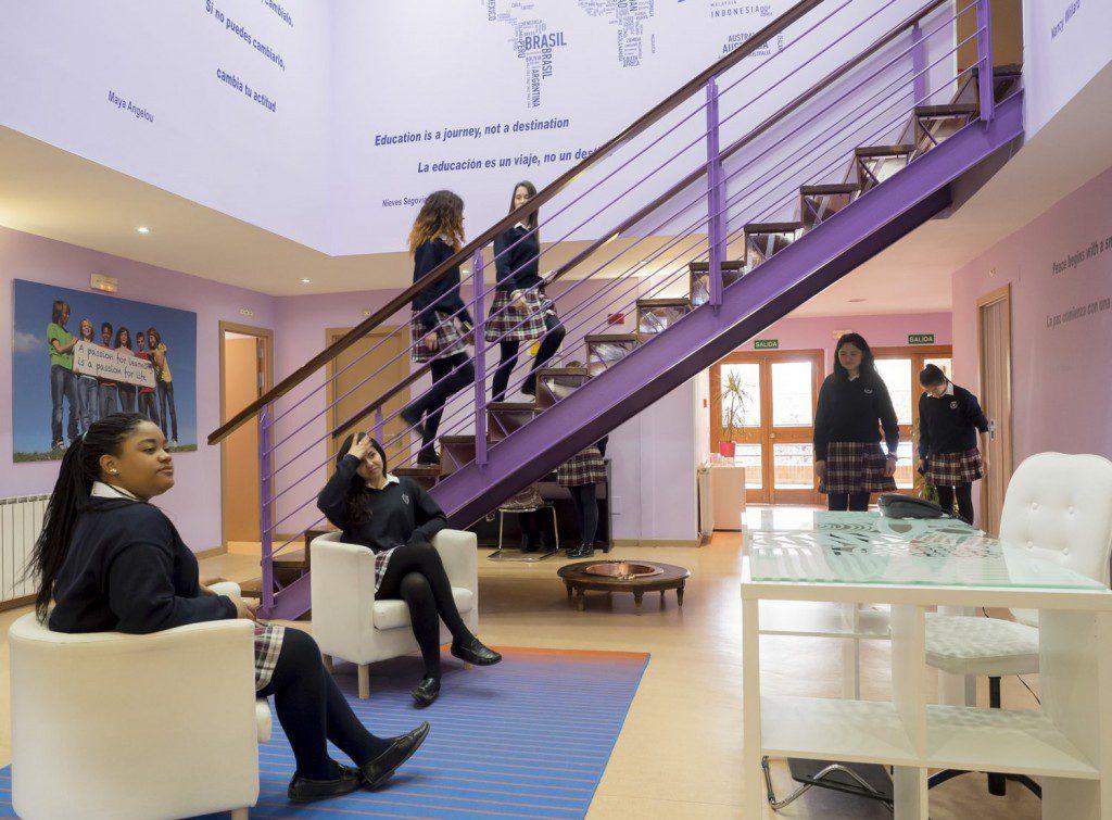 Residencia Femenina Espacios de aprendizaje SEK El Castillo