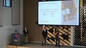 Presentación de los 'SEK Lab Awards' en Google Campus